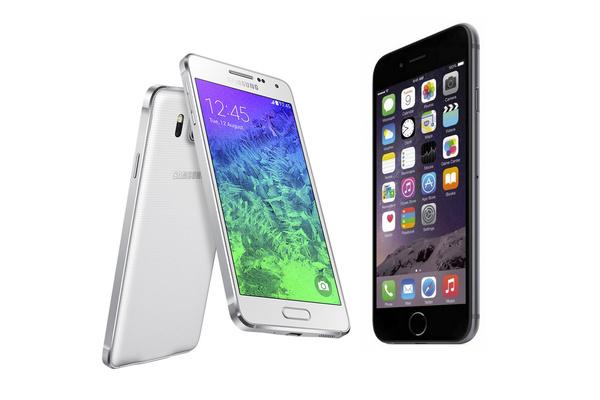 Kumpi kannattaa ostaa, premium-tason Galaxy Alpha vai iPhone 6?