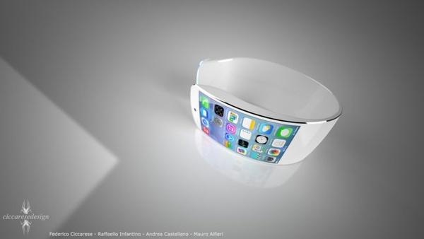 Applen iWatchiin tulossa taipuva näyttö?