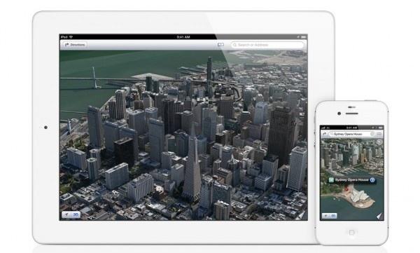 Applen kartoissa käytetään Microsoftin aineistoa