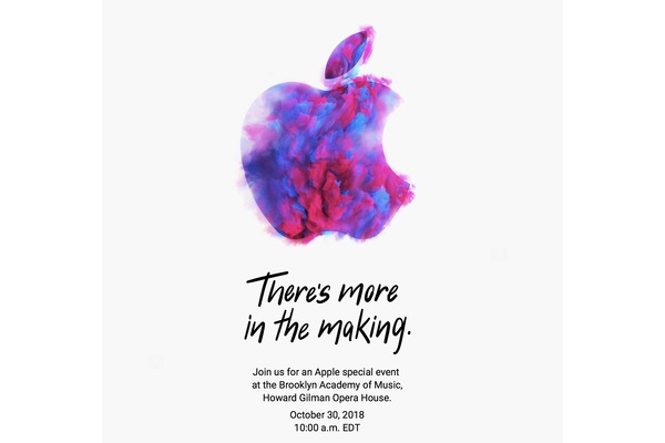 Apple already invited press to the next event – and it's later this month