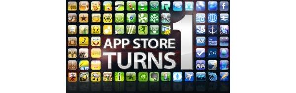 Applen App Store täyttää vuoden - huikea menestys