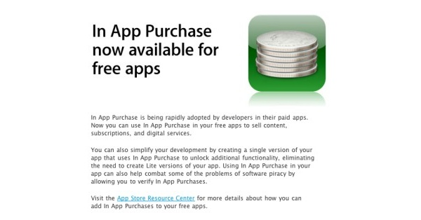 Applen iPhonessa sovellusten sisäiset ostot mahdollisia nyt myös ilmaisissa sovelluksissa