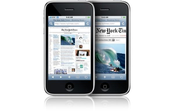 iPhonen selainmarkkinaosuus pomppasi 36 % jouluviikolla