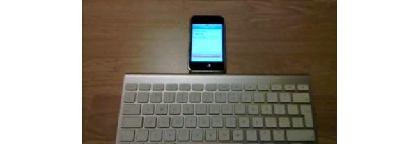 Videolla: Bluetooth-näppäimistö Apple iPhonen kaveriksi