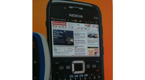 AT&T mainostaa Nokian E71x:ää BlackBerry-käyttöliittymän kera