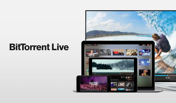 BitTorrentia voi käyttää myös live-videon esittämiseen