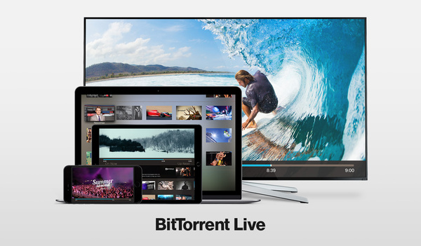 BitTorrent launches its own live video streaming platform