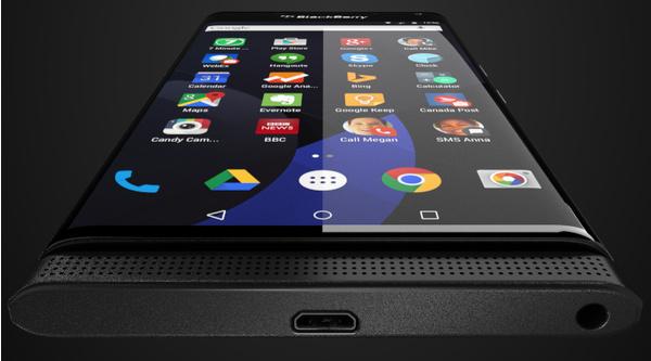 BlackBerryn pian saapuva Android-puhelin kuvassa?