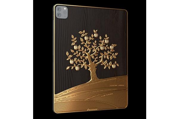 Caviar esitteli iPadin kilolla kultaa ja hintakin on sen mukainen
