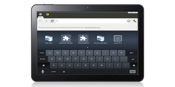 Videolla: Chrome OS:n tablet-versio