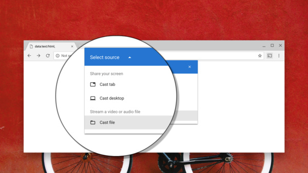 """Google to bring """"Cast a file"""" option to Chrome - allows playing files on Chromecast"""