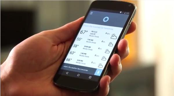 Hey Cortana toimii nyt myös Androidilla