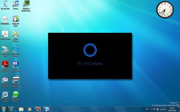 Cortana saapuu Windows 9:n mukana työpöydälle