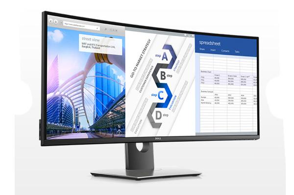 Dell julkisti uuden 34-tuumaisen ultralaajakuvanäytön