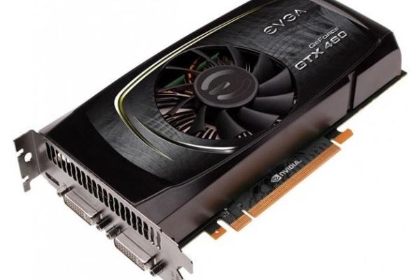 EVGA kellotti GTX 460 FTW -kortit 850 MHz vauhtiin