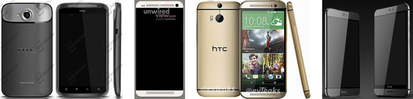 Evleaks leaks alleged HTC One M9 renders