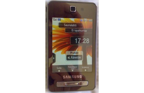 Testissä Samsungin iPhone-haastaja TouchWiz F480