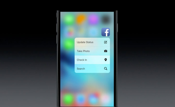 Facebook laajentaa 3D Touchin käyttöä