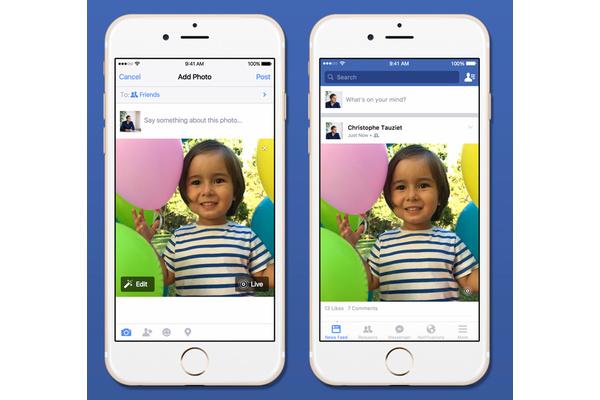 Facebook saa tuen iPhone 6s:n uudelle kuvaominaisuudelle