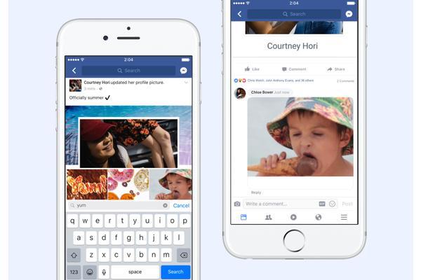 Facebook-sovelluksen kamera päivittyi uudella ominaisuudella