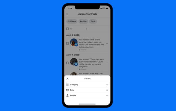 Facebookin uusi työkalu auttaa siistimään some-historiaa