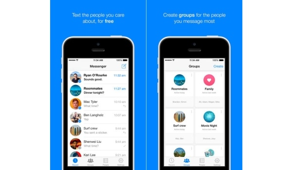 Facebook Messenger for iOS adds ability to forward messages, create groups