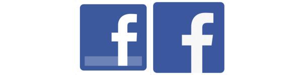 Facebook redesigns logo, icons