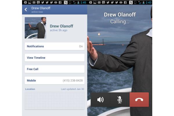 Nyt voit soittaa ilmaiseksi Facebook-kavereille iPhonella ja Androidilla