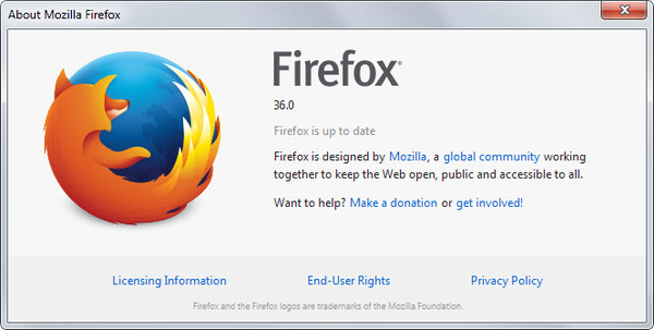 Mozilla Firefox 36 is here
