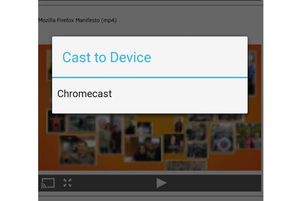 Firefox tuo mobiiliselaimeensa Chromecast-tuen