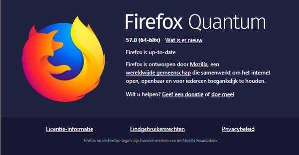 De nieuwste Firefox Quantum is 2x sneller en gebruikt 30% ...