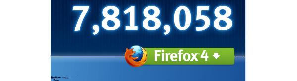 Firefox 4 downloads break 8 million