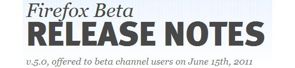Mozilla updates Firefox 5 to RC