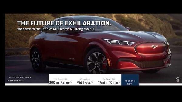 Tesla saa vakavan haastajan – Tältä näyttää sähköinen Mustang Mach-E