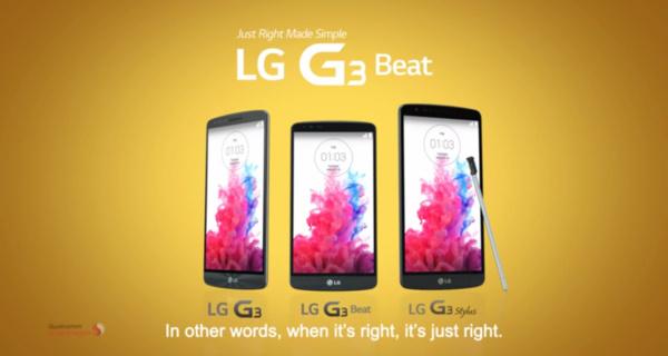 LG leaks their own G3 Stylus