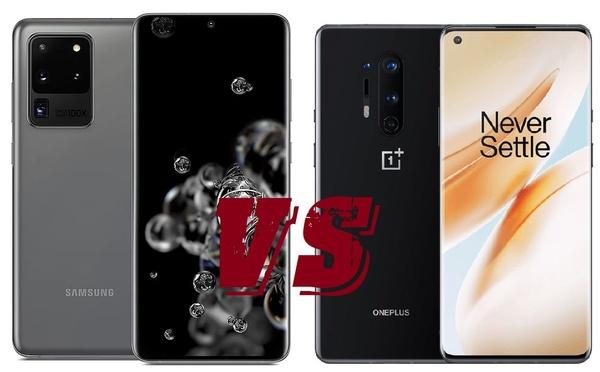 Vertailussa Galaxy S20 Ultra ja OnePlus 8 Pro – Kumpi on markkinoiden paras Android-puhelin?