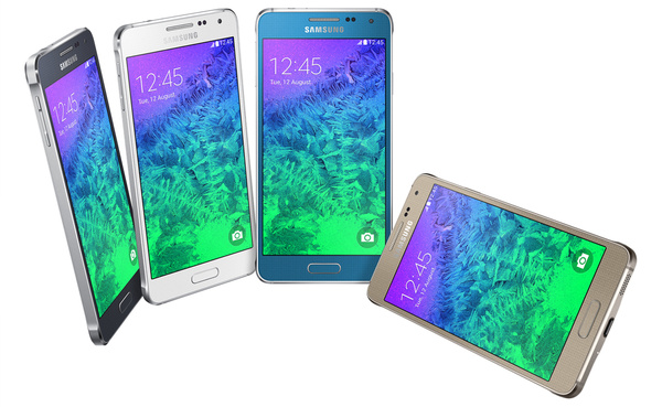 Samsung toi vaihtoehdon iPhonelle: Tyyris ja metallilla koristeltu Galaxy Alpha
