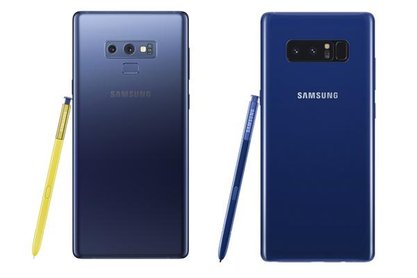 Kannattaako Note päivittää uuteen? Vertailussa Galaxy Note8 ja Galaxy Note9
