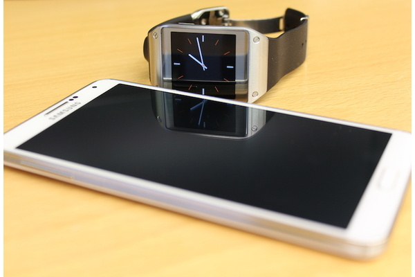 Testissä Samsung Galaxy Note 3 ja Galaxy Gear -älykello