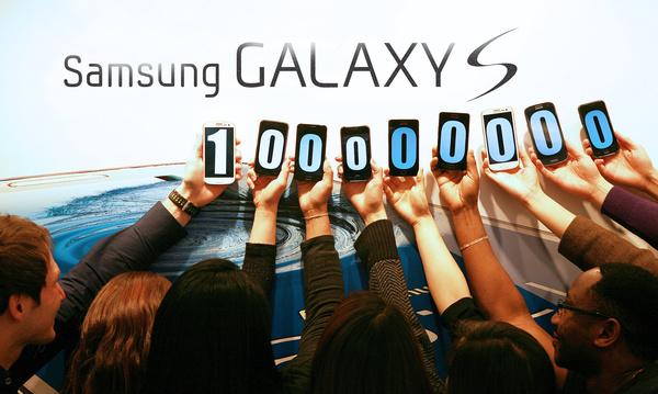 Galaxy S -sarja ylsi hurjaan rajapyykkiin