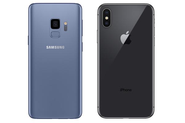 Yllätyksettömin pudotustesti? Galaxy S9 vs iPhone X