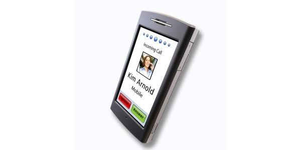 Garminin nüvifone-puhelimen käyttöliittymästä kuvankaappauksia