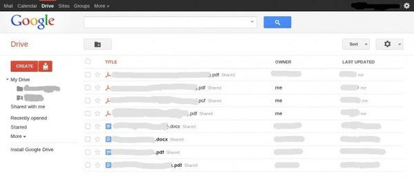 Google Drive cloud storage platform coming in April?