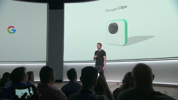 Clips is an AI camera developed by Google