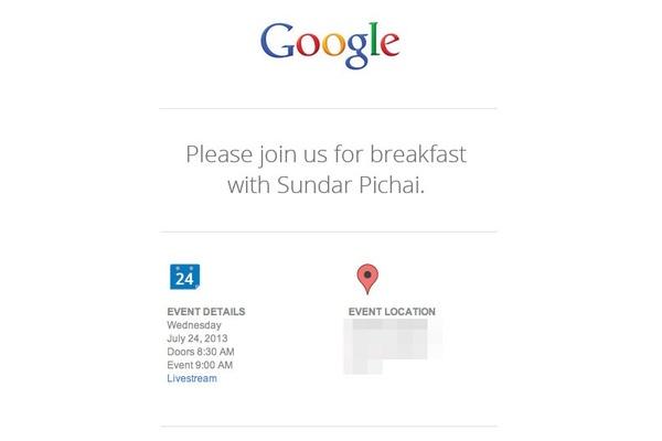 Google kutsuu aamiaiselle 24. heinäkuuta - vihdoin uusi Android?