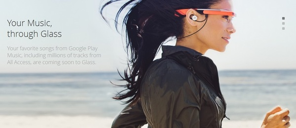 Google Glass gets new music-based features Google Play Music support