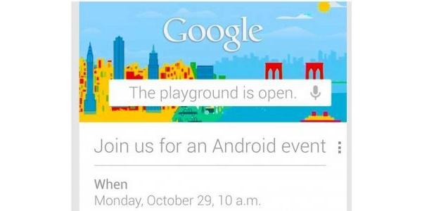 Google julkaisee uutta 29. lokakuuta