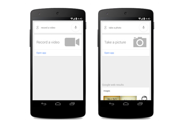 Google Now ymmärtää nyt kamerakomentoja