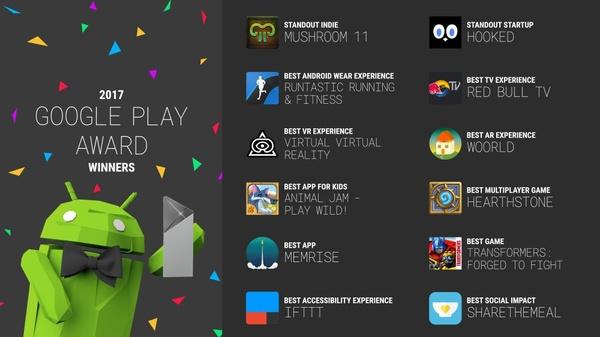 Google valitsi vuoden parhaat Android-sovellukset