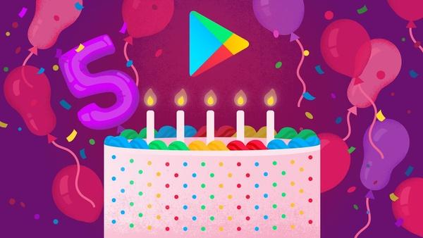 Google Play täytti vuosia – Tässä suosituimmat pelit, sovellukset, albumit ja elokuvat